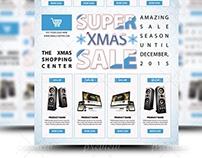 Super Xmas Sale Flyer