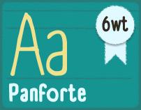 Panforte Typeface