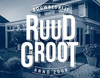 Huisstijl Bouwbedrijf Ruud de Groot