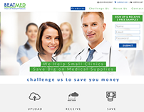 BeatMed, Inc. – Home Page Concept