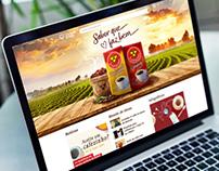 Café 3 Corações | Coração & Vida - Landing page