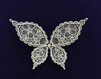 Butterfly, Paper cutting