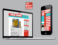 Le Bon Coin - Site web et application mobile