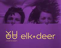 Elk+Deer creative team logo