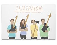 Triathalon Poster