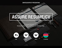 CV/Resume Print Set with MS Word