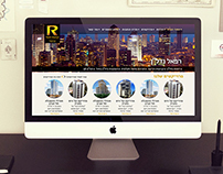 Refael Nadlan - website redesign