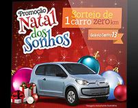 Campanha de Natal - Galeria 13 - Aracajú/SE