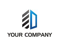 Logo Development / Window / Initial D for Sale