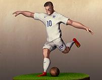 Zbrush speed sculpt Rooney