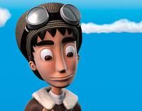 Biplano Animation