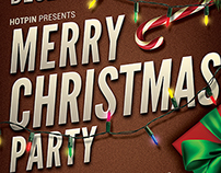 Christmas Event/Party Flyer Template