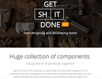 Get Shit Done Kit Pro by Creative Tim