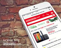 Americans.com App iOS7 e Mobile Site