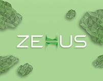 Zehus' brand identity