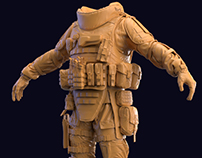 Combat Arms Heavy Outfit