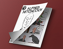 Alfred Hitchcock a Problem with the Birds Graphic Novel