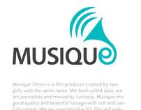 Musique (website proposta de layout)