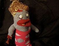Rhoda, the Sock Zombie.