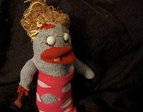 Rhoda, the Sock Zombie.