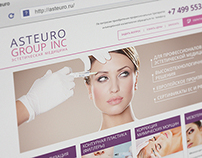 Web design for cosmetics company
