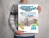 Campaña Conservatorio Superior de Música CLM - ANPE