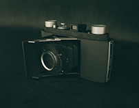 Free 3d model Retro Camera Prontor II