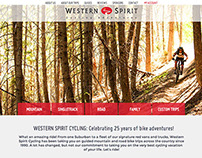 Western Spirit Cycling Website
