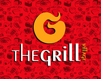 The Grill Village Menu Design