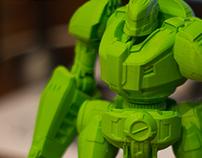 "combat robot ""mole"""