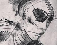 Sketch on Newsprint -2014