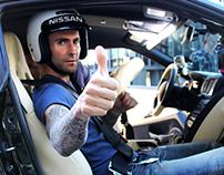 Adam Levine's Nissan GT-R Challenge