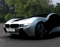 3D Replica of BMW's 2011 i8 Spyder