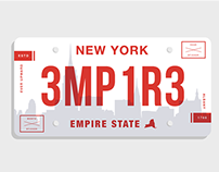 State License Plates Redesigned
