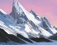 Icebound Mountains