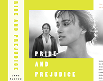 Pride and Prejudice Book Jacket