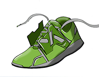 The Fractured Planet Shoe Collection