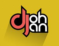 Logotype Dj Johan