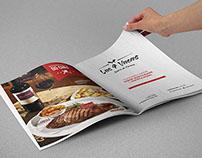 Anúncio/Revista - Las 4 Vacas