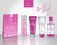 Diseño de identidad de producto - Aromas del Angel