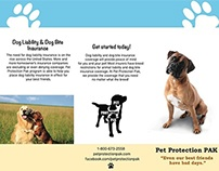 Pet Protection PAK Brochure Dog Liability Insurance