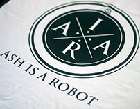 Band Logo and Official Merch | Ash Is A Robot
