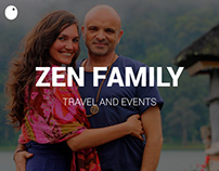 Zen family // Website