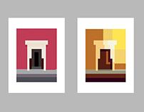 Oaxaca Postcards - Square Inside a Square