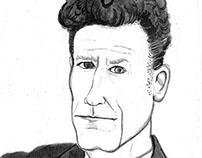 Lyle Lovett Portrait
