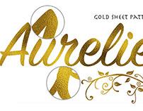 Aurelie-Gold Sheet Texture Effect V1