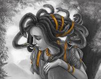 Illustration - Medusa