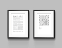 Bill of Rights - Typesetting