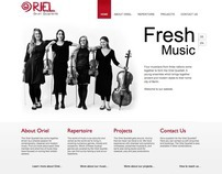 Oriel Quartett Website