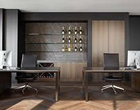 Executive Office Design by STUDIOMINT
